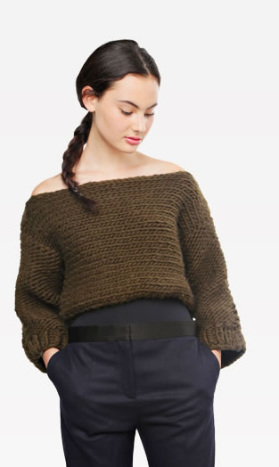 Short Cuts Sweater