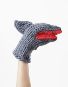 Bruce Knit Mitts