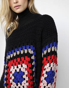 Dot Cotton Sweater