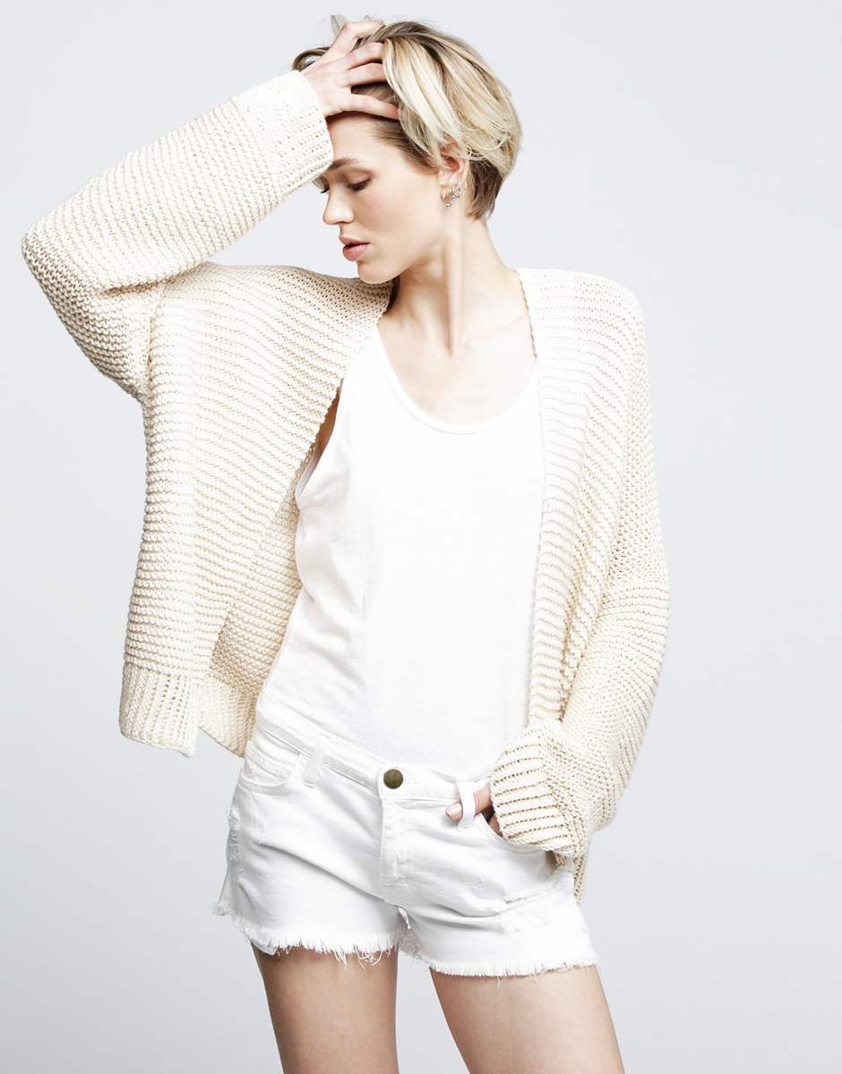 Try knitting the Vivienne Cardigan