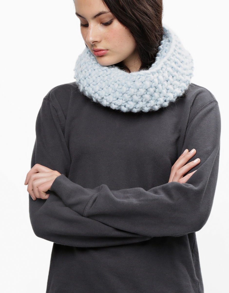 Try knitting the lil snood