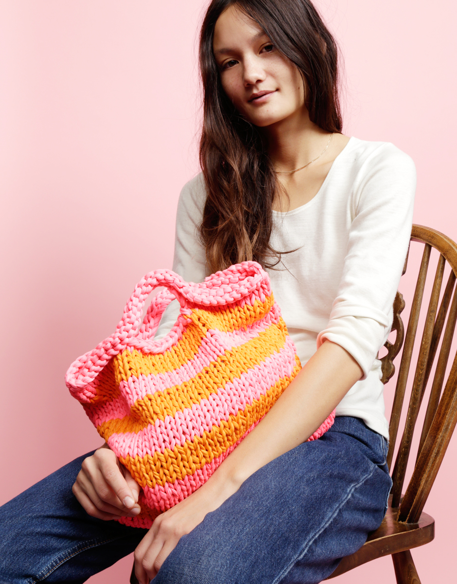 Try knitting the ZigaZag Shopper
