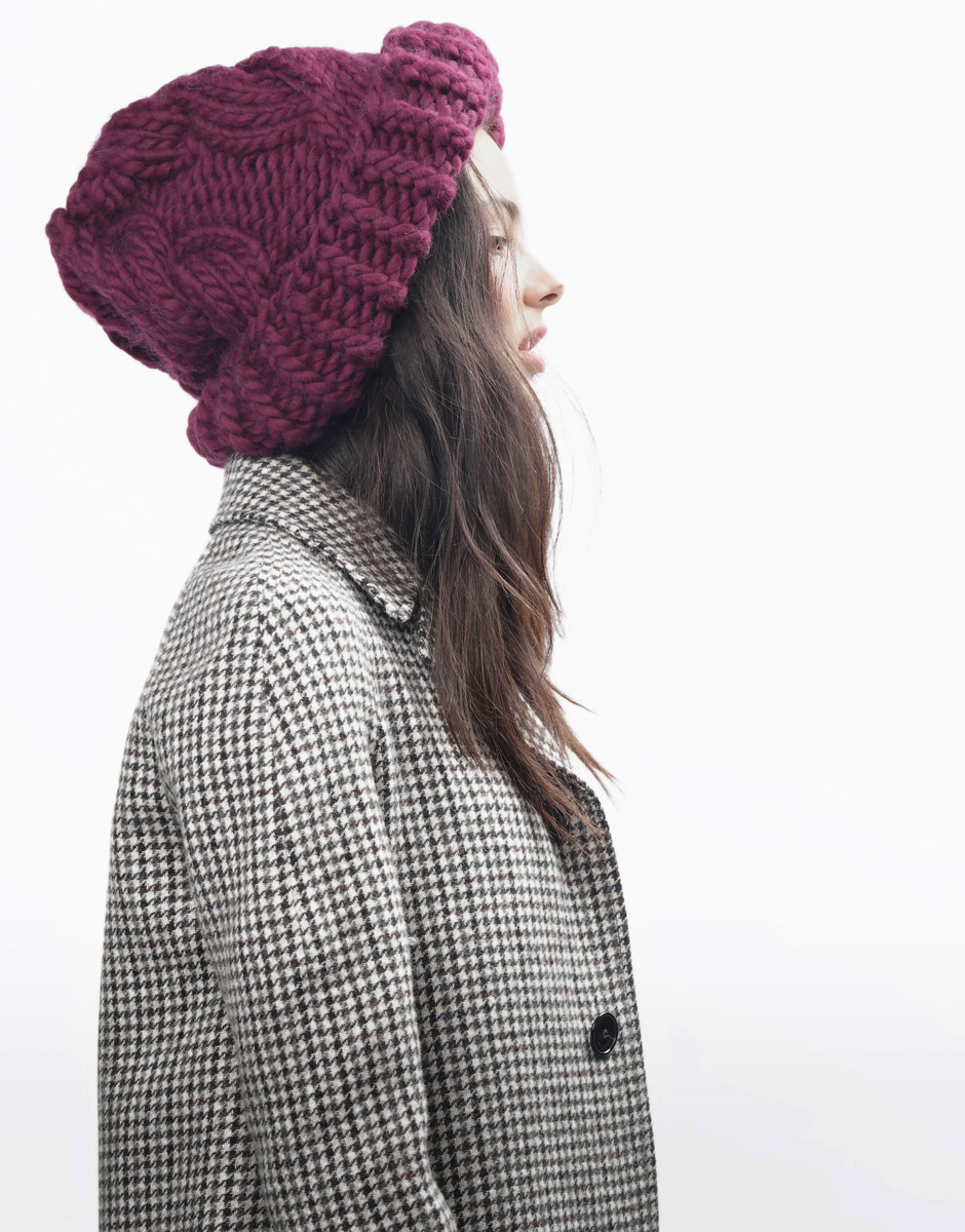 Try knitting the moonhead beanie