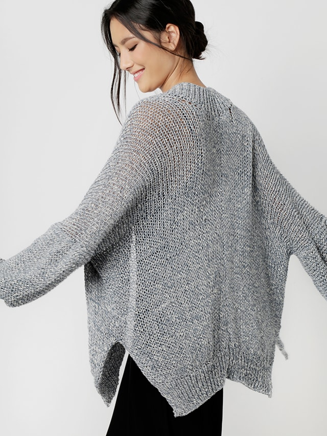 Try knitting the pop life cardigan